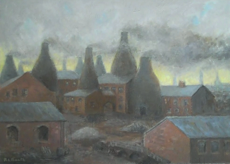The Potteries Stoke On Trent Bobonart
